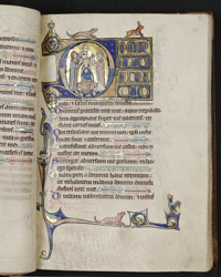 Psalm 26, in the Huth Psalter
